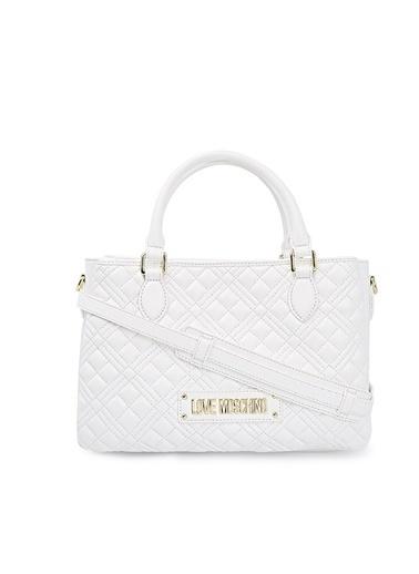 Love Moschino   Ayarlanabilir Askılı Çanta Kadın Çanta Jc4005Pp1Cla0100 Beyaz